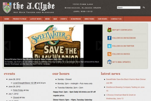 The J.Clyde website